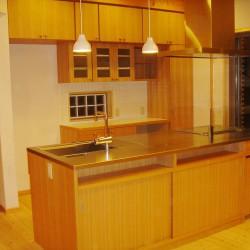 オーダーキッチン、造作キッチン収納