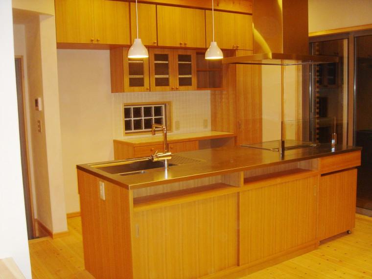 オーダーキッチン、造作キッチン収納0