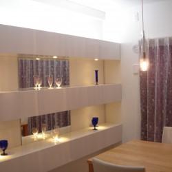 ≪造作≫マンション壁面飾り棚、ダイニング