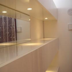 ≪造作≫マンション壁面飾り棚、ダイニング1