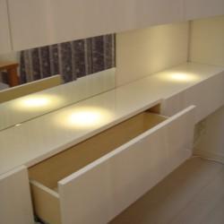 ≪造作≫マンション壁面飾り棚、ダイニング3