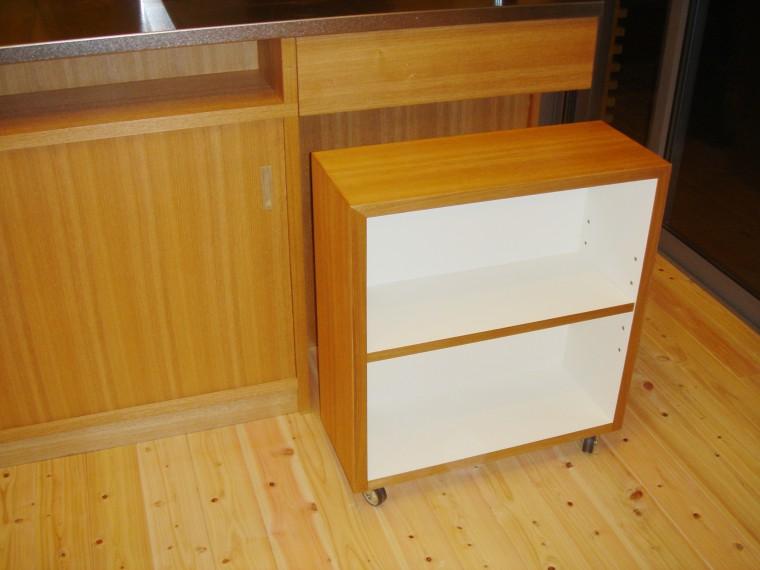 オーダーキッチン、造作キッチン収納4