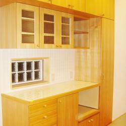 オーダーキッチン、造作キッチン収納5
