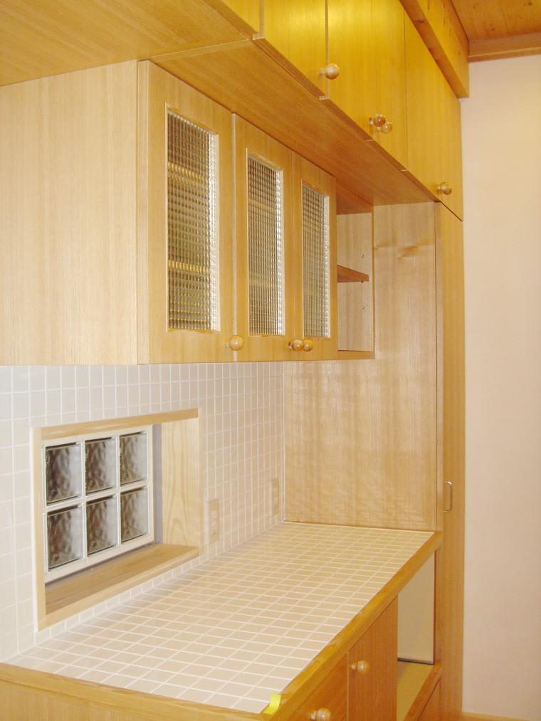 オーダーキッチン、造作キッチン収納6