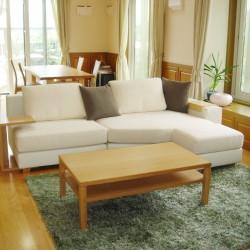 ≪造作≫リビングテーブル、下駄箱、ソファ、ラグ納品