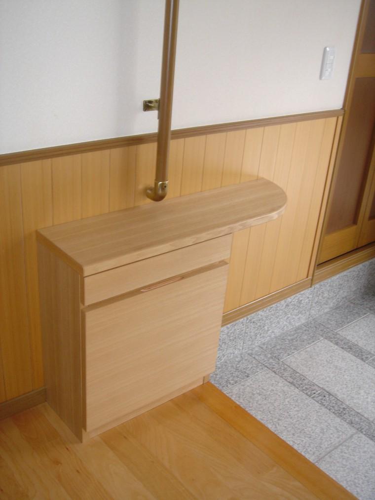 ≪造作≫リビングテーブル、下駄箱、ソファ、ラグ納品3
