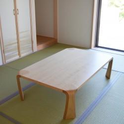 ダイニング、ベッド、デスクチェア、座卓2