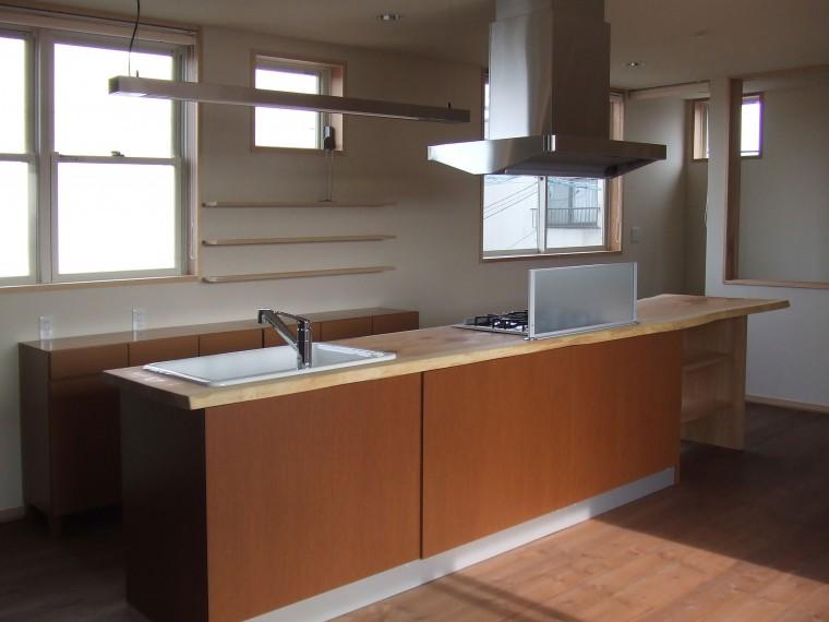 松江市K様邸 造作キッチン・玄関収納0