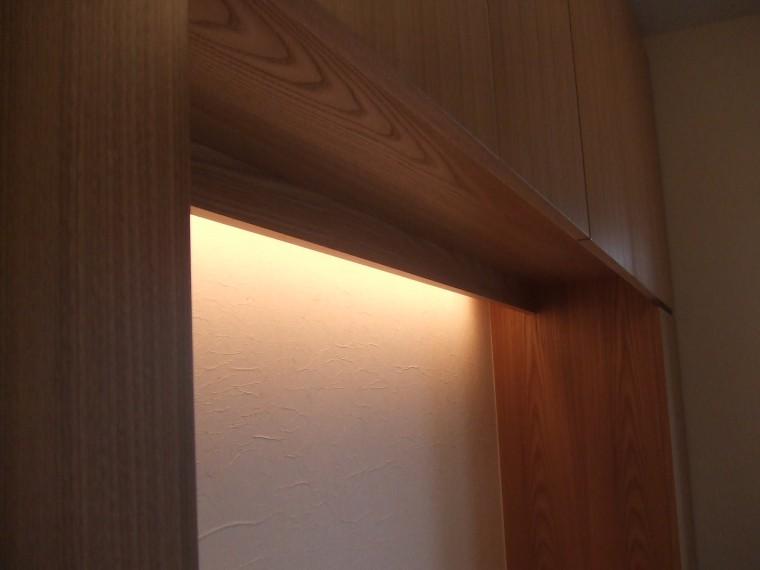 ≪造作≫造作キッチン・玄関収納3