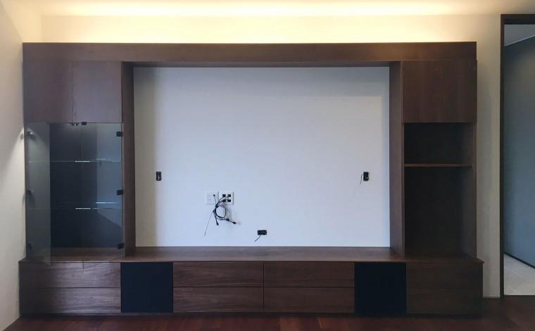 壁面造作家具収納3