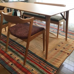 ダイニングテーブル、チェア、ベンチ、一人掛けソファ 納品