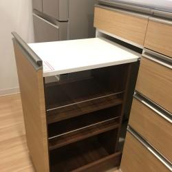 キッチン収納の納品2