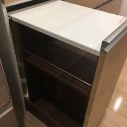 キッチン収納の納品3