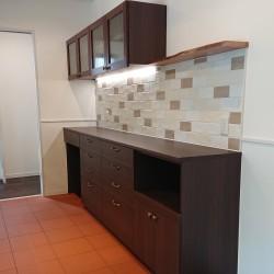 ≪造作≫キッチン収納、洗面化粧台、トイレ手洗1