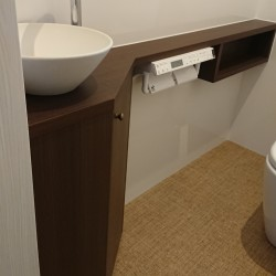≪造作≫キッチン収納、洗面化粧台、トイレ手洗9