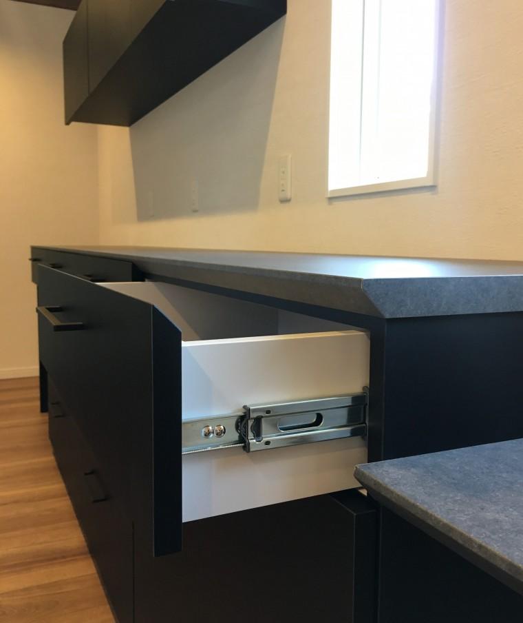 ≪造作≫キッチン背面収納2